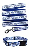 Kentucky Wildcats Nylon Collar and Matching Leash for Pets (NCAA Official by Pets First) Size Small