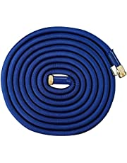 Expandable Garden Hose 25 Ft. Long | Heavy Duty Water Hose | Retractable Hose for Gardening Car Wash RV Motorhome Camper Accessories Flexible Kink Free Marine Hose | Portable Water Hose