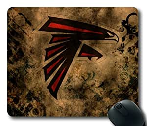Atlanta Falcons Cover Design Rectangle Mouse Pad by eeMuse