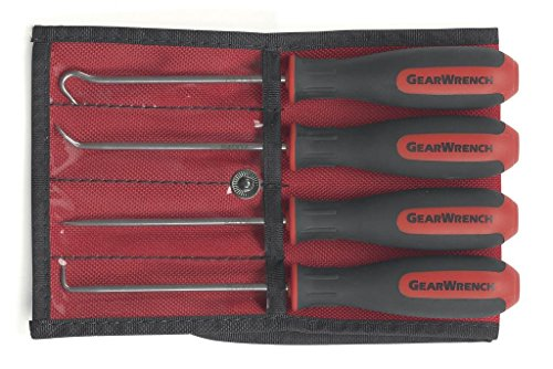 GearWrench GearWrench 84040 Mini Hook & Pick Set 4 Piece Mini Cushion Grip