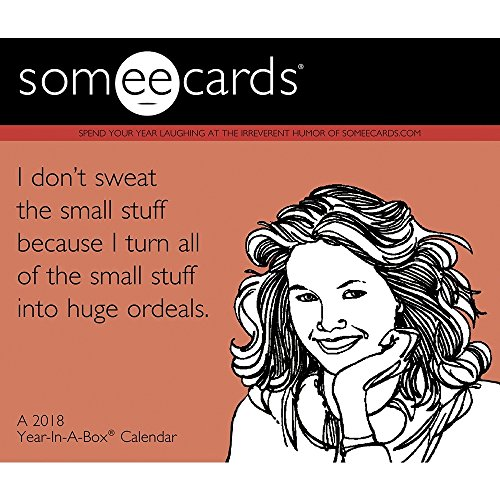 Someecards 2018 Boxed Desk Calendar