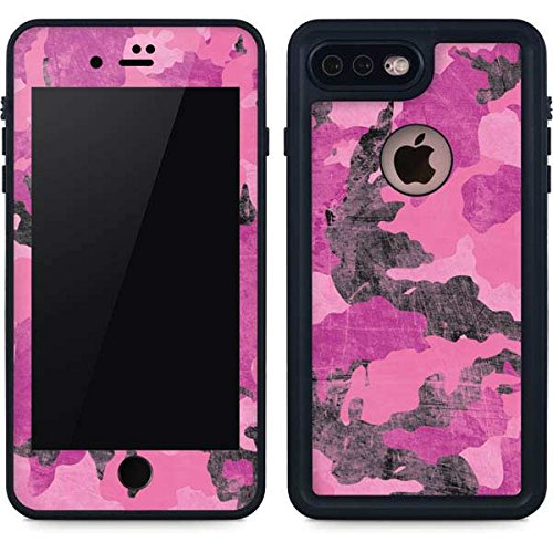 low priced f6a87 378ae Amazon.com: Camouflage iPhone 8 Plus Case - Pink Camouflage | Skinit ...