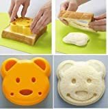 New Cute Pocket Sandwich Bread Mold Mould Cutter (Heart Shape)