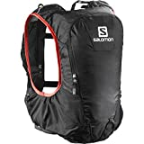 Salomon Skin Pro 10 Set Hydration Pack - 610cu in Black/Bright Red, One Size