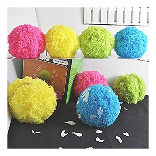 Viet's Ball Magic Roller Ball | Toy Automatic Roller | Ball Magic Ball Dog Cat Pet Toy 1 Rolling Ball 4 Color Ball Cover(5pcs/Set)