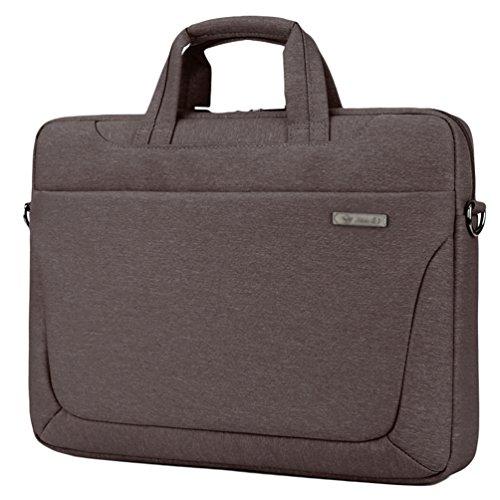 Computer Brown 2 Waterproof Nylon Case Bag Laptop Briefcase Messenger Shoulder Sunwanyi pPzfx0S0