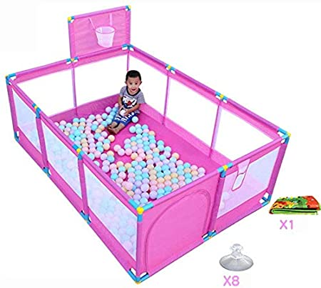XD Panda Parque Infantil Grande portátil para bebé 10 ...