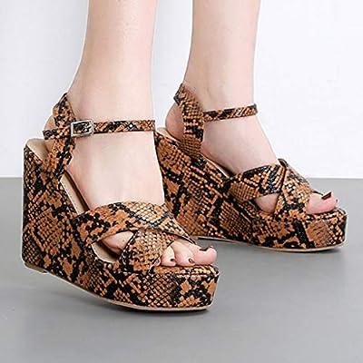 Rhinestone Quad Strap Platform Stiletto Sandals High Heels Shoes Adult Women