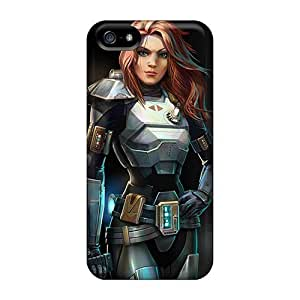 Hot Design Premium CEDPDyH6754CTkKg Tpu Case Cover Iphone 5/5s Protection Case(star Wars The Old Republic)