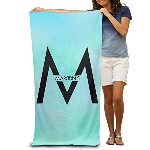 (ZRKV Maroon 5 Band Logo Beach & Travel Bath Towel)