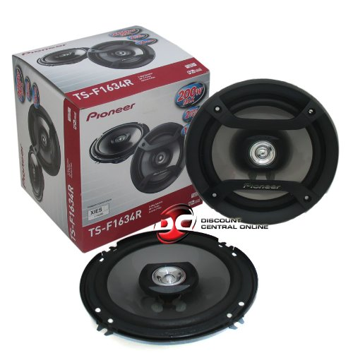 Pioneer TS-F1634R 6.5' 200W 2-Way Speakers