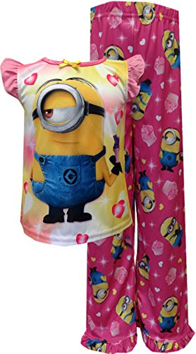 Disney Little Girls' Minion Pajama Set