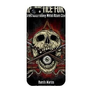 Iphone 5/5s DKx15955LmAJ Allow Personal Design Attractive Three Days Grace Skin Shockproof Hard Phone Case -DrawsBriscoe
