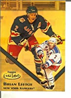 Hockey NHL 2000-01 Gold Label Class 1 Gold #91 Brian Leetch /399 NY Rangers