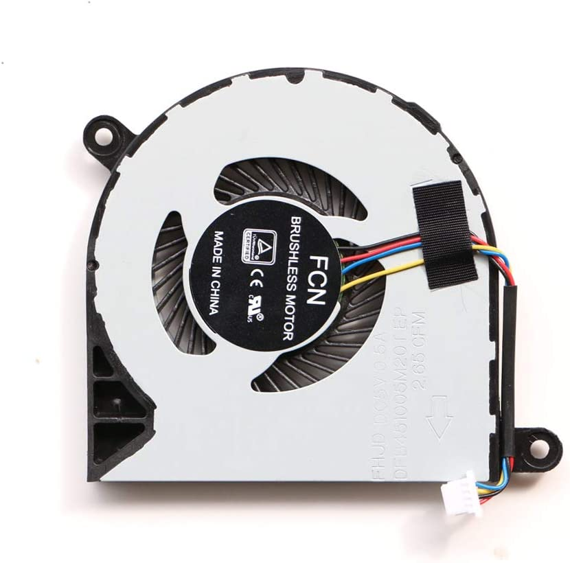 KBR Replacement CPU Cooling Fan for Dell Inspiron 13-5368 13-5568 Inspiron 15 15-7579 7368 7569 Series Laptop DP/N CN-031TPT