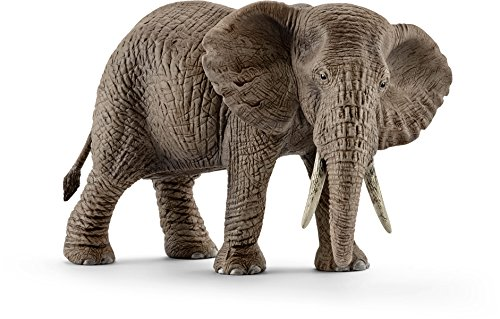 - Schleich Female African Elephant Toy Figure