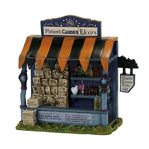 Department 56 Accessories for Villages Halloween Spells and Potions Kiosk Accessory -