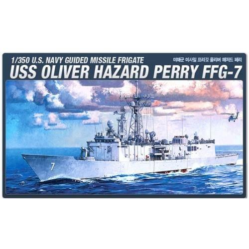 Academy Plastic Model Kit 1/350 U.S. OLIVER HAZARD PERRY FFG-7 (#14102)