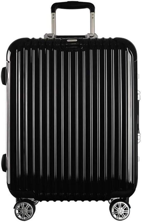 Color : B, Size : 472761cm Qzny Suitcase Aluminum Frame Trolley Case Universal Wheel Luggage Lady Suitcase Chassis Mens Lock Box Hardshell Large Capacity