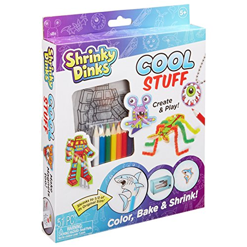 Shrinky Dinks Cool Stuff Activity - Stuff Wooden Cool