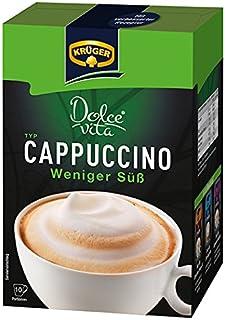 Krüger Dolce Vita aufhören Cappuccino Süß, caffelatte, Café con Leche, Light, 8