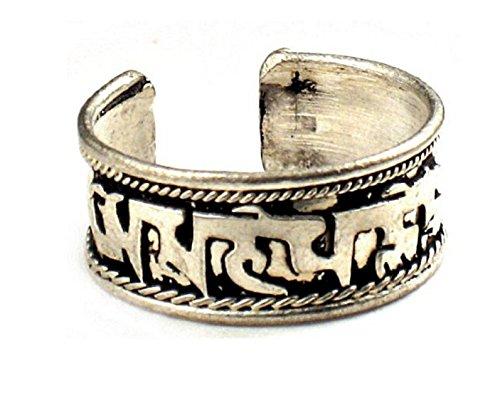 Tibetan Om Mani Padme Hum Healing Ring (Om Mani)