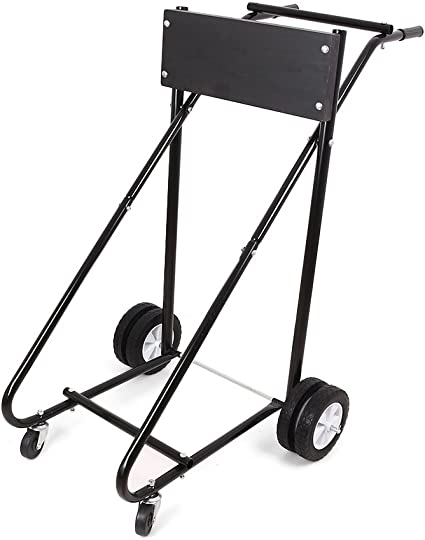 Cloud Rising 315 LBS Outboard Motor Stand Heavy Duty Pro Outboard Engine Carrier Cart