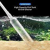 WALOTAR Fish Tank Gravel Cleaner-30ft Long Hose