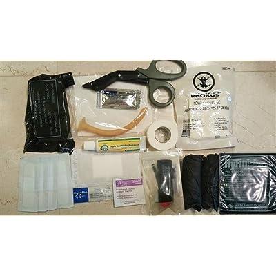 Complete USGI based Medical IFAK Trauma Kit Refill Supplies
