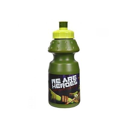 Botella cantimplora de plastico de Tortugas Ninja: Amazon.es ...