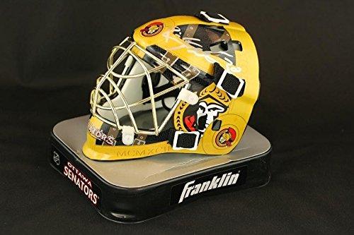 Brian Elliott SIGNED Goalie Mini Helmet Ottawa Senators AUTOGRAPHED - PSA/DNA Certified - Autographed NHL Mini Helmets