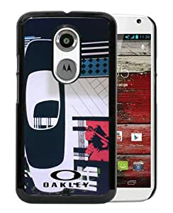 Fashionable And Unique Designed Case For Motorola Moto X 2nd Generation With Oakley 9 Black Phone Case