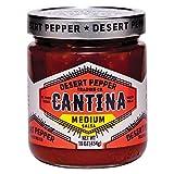 DESERT PEPPER TRADING, SALSA, CANTINA, MEDIUM, RED - Pack of 6
