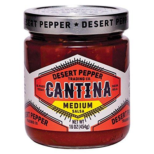 Desert Pepper Trading Cantina Salsa, Medium Red, 16 Oz