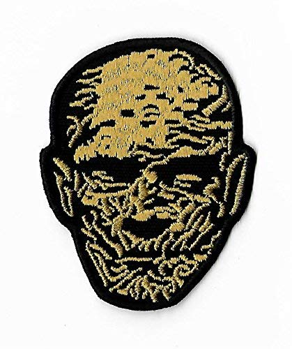 The Mummy Patch (3.5 Inch) DIY Embroidered Iron on Badge Applique Boris Karloff Horror Movie Souvenir Costume Universal Monster Imhotep -