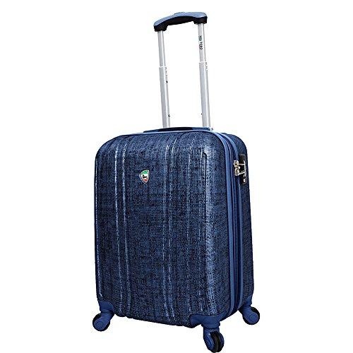 mia-toro-macchiolina-abrasa-hardside-spinner-carry-on-blue-one-size
