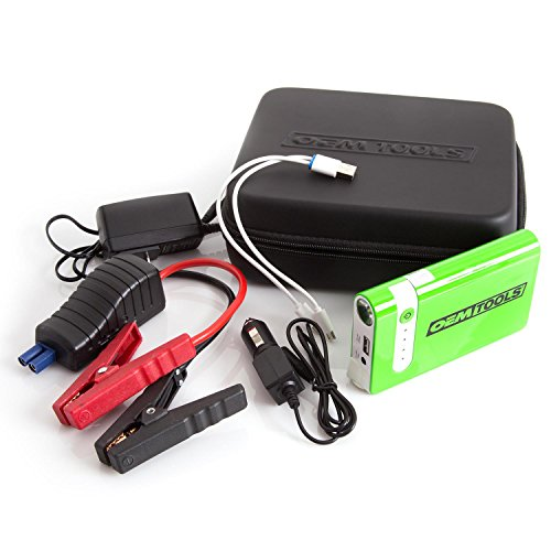 (OEMTOOLS 24379 PPS-1 Personal Power Source with Smart Jump Cables)
