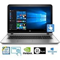 HP ENVY 17-s110nr, Core i7-7500, 16GB, 1TB HDD, 17.3 Full HD Touch Laptop (Certified Refurbished)