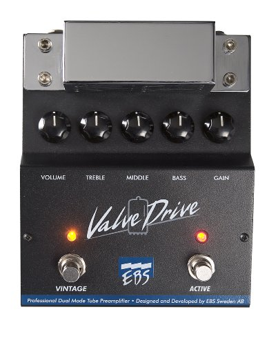 EBS ValveDrive Class A Bass Tube Preamp/Overdrive Pedal