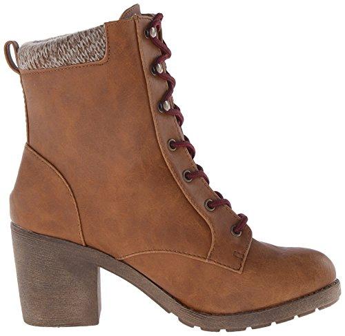 Jellypop Femmes Vernis Chelsea Boot Cognac Dist