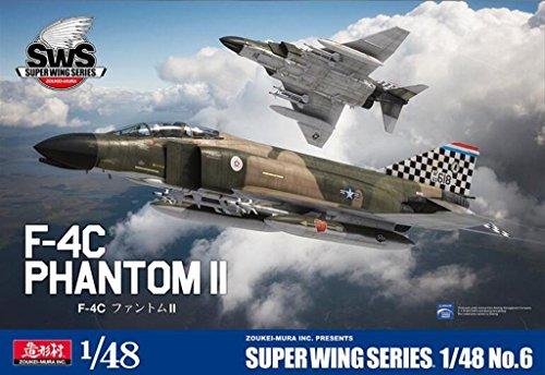 Zoukei Mura 1:48 Mcdonnell Douglas F-4 C F-4C Phantom II Plastic Kit #SWS4806 - 4c Kit