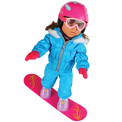 Today's Girl 6 pc. Extreme Snowboarding Clothing Set for 18