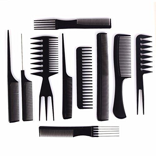 10 Piece Styling Comb Set & Luxurious Tea Tree Beard Oil 2.5 FL OZ Beard Grooming Kit