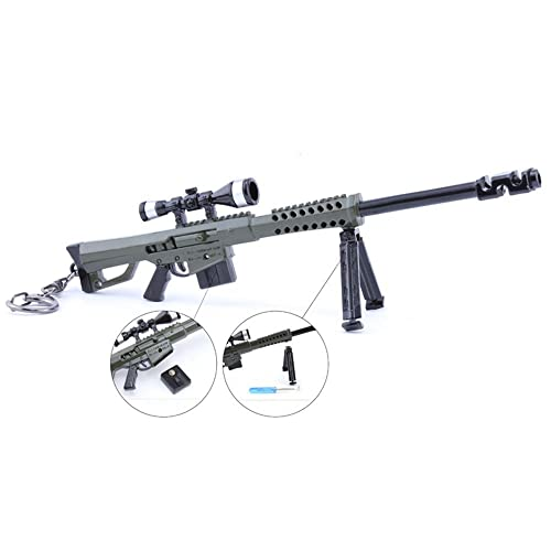 Juegos Metal 1/6 Metal Destroyer Sniper Rifle Gun Modelo ...