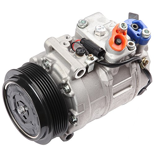 cciyu AC Compressor and A/C Clutches Set for Mercedes-Benz C240 2001-2003 Replacement fit for CO 11245C Auto Repair Compressors Assembly ()