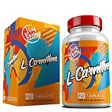 Peak Body Nutrition L Carnitine - 500mg Capsules - Naturally Occuring Amino Acid That Burns Fat and Enhances Workout Performance & Recovery - USA Made - Small & Easily Consumed