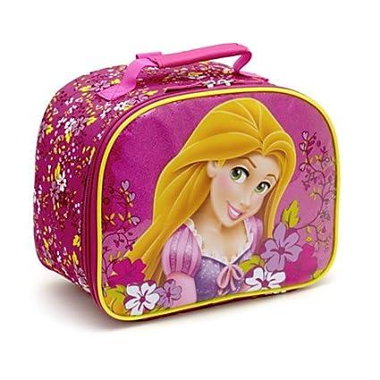 Auténtico Disney Store, enredados Rapunzel Bolsa para el almuerzo, almuerzo Tote