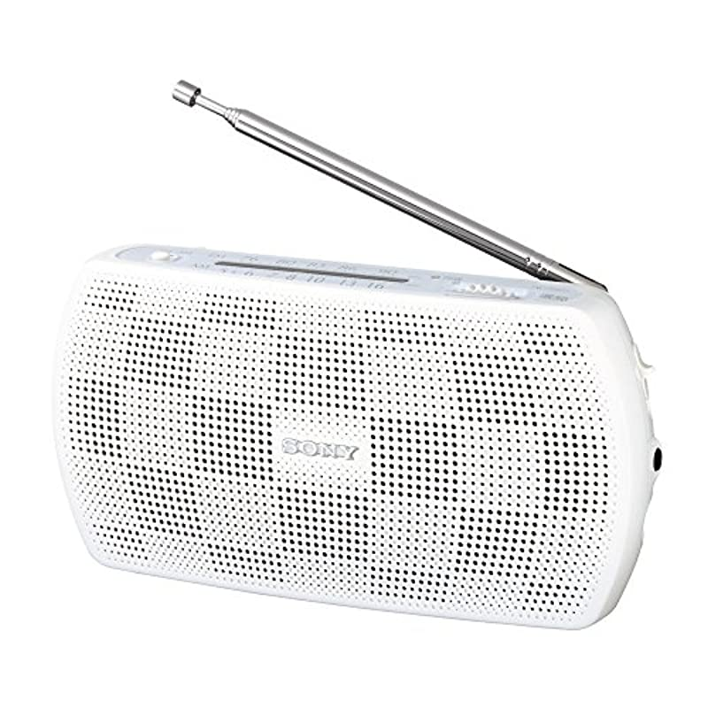 SONY 휴대용 라디오 SRF-19 FM / AM 지원