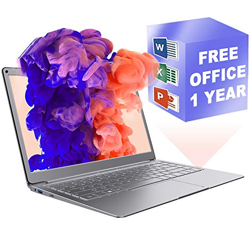 """Jumper 13.3"""" Windows 10 Traditional Laptop Computers Mini Laptop ,FHD (1920 x 1080) IPS Laptop with Office 365 Personal…"""