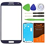 CrazyFire® Navy Blue Front Outer Glass Lens Screen Replacement For Samsung Galaxy S4 SIV I9500 L720 I545 I337 M919 R970+Tools Kit+Adhesive Tape